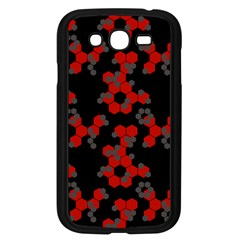 Red Digital Camo Wallpaper Red Camouflage Samsung Galaxy Grand Duos I9082 Case (black) by Alisyart