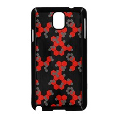 Red Digital Camo Wallpaper Red Camouflage Samsung Galaxy Note 3 Neo Hardshell Case (black)