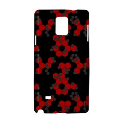 Red Digital Camo Wallpaper Red Camouflage Samsung Galaxy Note 4 Hardshell Case