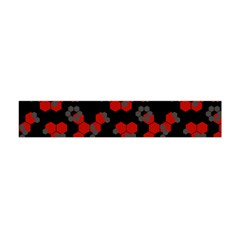 Red Digital Camo Wallpaper Red Camouflage Flano Scarf (mini)