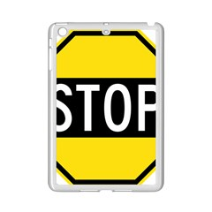 Road Sign Stop Ipad Mini 2 Enamel Coated Cases