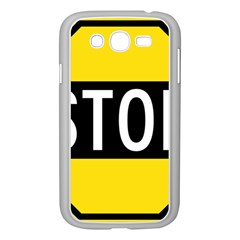 Road Sign Stop Samsung Galaxy Grand Duos I9082 Case (white)