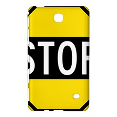 Road Sign Stop Samsung Galaxy Tab 4 (8 ) Hardshell Case