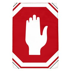 Road Sign Stop Hand Finger Flap Covers (s)  by Alisyart