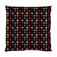 N Pattern Holiday Gift Star Snow Standard Cushion Case (one Side) by Alisyart