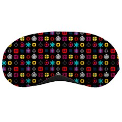 N Pattern Holiday Gift Star Snow Sleeping Masks