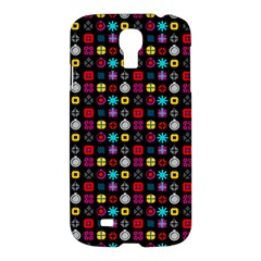 N Pattern Holiday Gift Star Snow Samsung Galaxy S4 I9500/i9505 Hardshell Case
