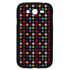N Pattern Holiday Gift Star Snow Samsung Galaxy Grand Duos I9082 Case (black) by Alisyart