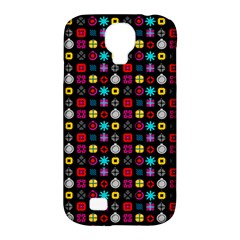 N Pattern Holiday Gift Star Snow Samsung Galaxy S4 Classic Hardshell Case (pc+silicone) by Alisyart