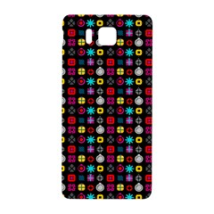 N Pattern Holiday Gift Star Snow Samsung Galaxy Alpha Hardshell Back Case by Alisyart