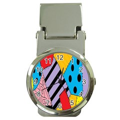 Sally s Patchwork Pattern Money Clip Watches by Alisyart