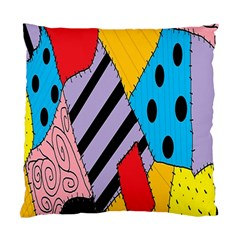 Sally s Patchwork Pattern Standard Cushion Case (two Sides) by Alisyart