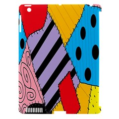Sally s Patchwork Pattern Apple Ipad 3/4 Hardshell Case (compatible With Smart Cover) by Alisyart