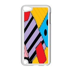 Sally s Patchwork Pattern Apple Ipod Touch 5 Case (white) by Alisyart