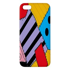 Sally s Patchwork Pattern Iphone 5s/ Se Premium Hardshell Case