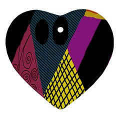 Sally Skellington Fabric Heart Ornament (two Sides) by Alisyart