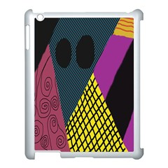 Sally Skellington Fabric Apple Ipad 3/4 Case (white)