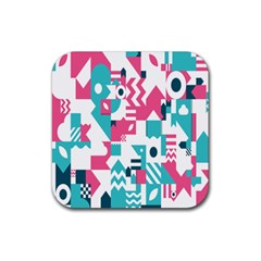 Poster Rubber Square Coaster (4 Pack)  by Alisyart