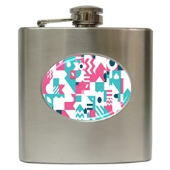 Poster Hip Flask (6 Oz) by Alisyart