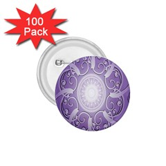 Purple Background With Artwork 1 75  Buttons (100 Pack)