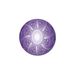 Purple Background With Artwork Golf Ball Marker (10 Pack) by Alisyart