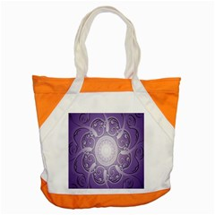 Purple Background With Artwork Accent Tote Bag by Alisyart