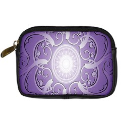 Purple Background With Artwork Digital Camera Cases