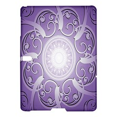 Purple Background With Artwork Samsung Galaxy Tab S (10 5 ) Hardshell Case