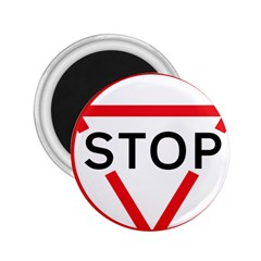 Stop Sign 2 25  Magnets by Alisyart