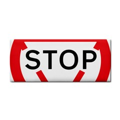 Stop Sign Cosmetic Storage Cases by Alisyart