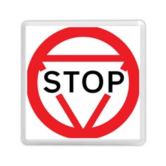 Stop Sign Memory Card Reader (square)