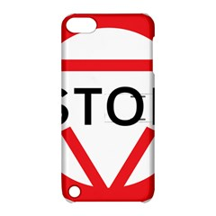 Stop Sign Apple Ipod Touch 5 Hardshell Case With Stand by Alisyart