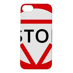 Stop Sign Apple Iphone 5s/ Se Hardshell Case