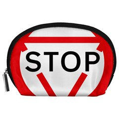 Stop Sign Accessory Pouches (large)  by Alisyart