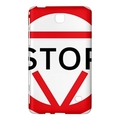 Stop Sign Samsung Galaxy Tab 4 (7 ) Hardshell Case  by Alisyart