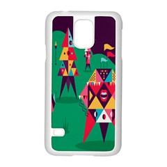 Studio Crafts Unique Visual  Projects Samsung Galaxy S5 Case (white)
