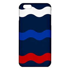Wave Line Waves Blue White Red Flag Iphone 6 Plus/6s Plus Tpu Case by Alisyart