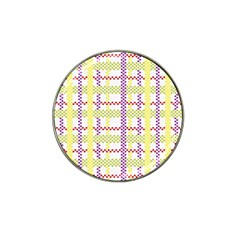 Webbing Plaid Color Hat Clip Ball Marker (10 Pack) by Alisyart