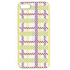 Webbing Plaid Color Apple Iphone 5 Hardshell Case With Stand by Alisyart