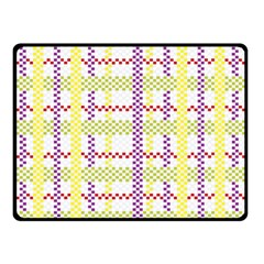 Webbing Plaid Color Double Sided Fleece Blanket (small)  by Alisyart