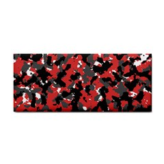 Spot Camuflase Red Black Cosmetic Storage Cases by Alisyart