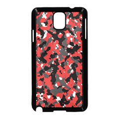 Spot Camuflase Red Black Samsung Galaxy Note 3 Neo Hardshell Case (black)