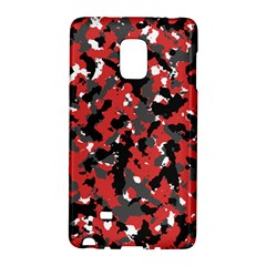 Spot Camuflase Red Black Galaxy Note Edge