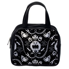 Wrapping Paper Nightmare Monster Sinister Helloween Ghost Classic Handbags (one Side) by Alisyart