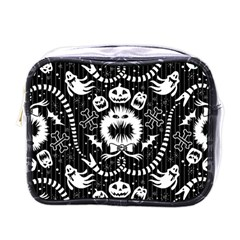Wrapping Paper Nightmare Monster Sinister Helloween Ghost Mini Toiletries Bags by Alisyart