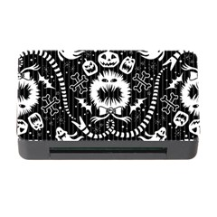 Wrapping Paper Nightmare Monster Sinister Helloween Ghost Memory Card Reader With Cf by Alisyart