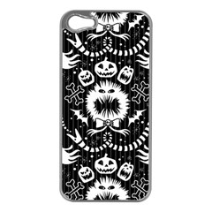 Wrapping Paper Nightmare Monster Sinister Helloween Ghost Apple Iphone 5 Case (silver)
