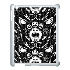 Wrapping Paper Nightmare Monster Sinister Helloween Ghost Apple Ipad 3/4 Case (white)