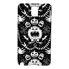 Wrapping Paper Nightmare Monster Sinister Helloween Ghost Samsung Galaxy Note 3 N9005 Hardshell Case by Alisyart
