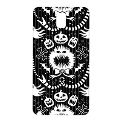 Wrapping Paper Nightmare Monster Sinister Helloween Ghost Samsung Galaxy Note 3 N9005 Hardshell Back Case
